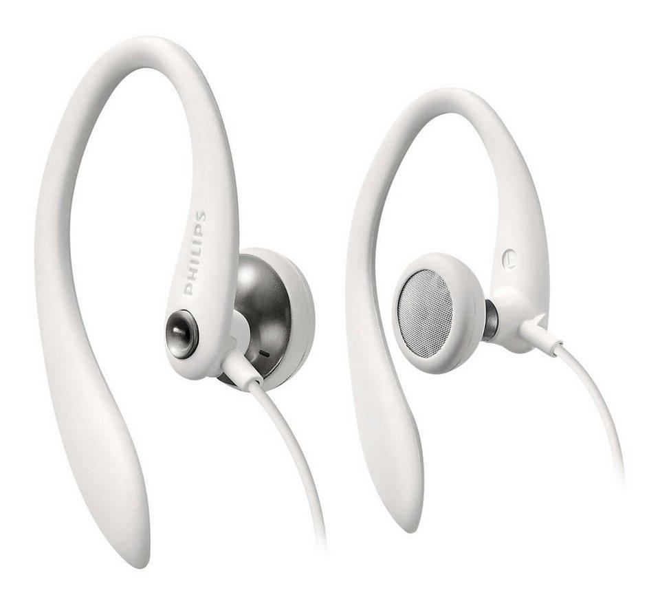 Philips Sport EarClip Kopfhörer »SHS3300/10« in weiss