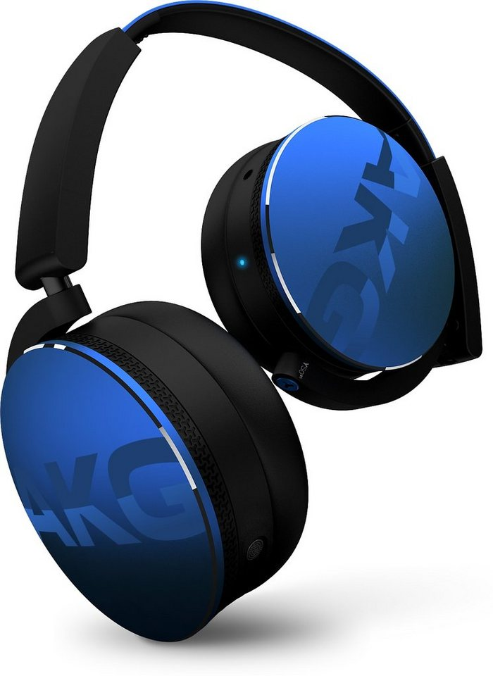 AKG On-Ear Bluetooth Kopfhörer »Y 50BT« in blau