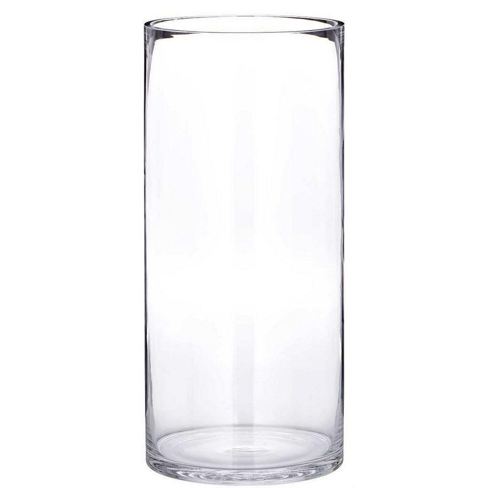 BUTLERS POOL »zylindrische Bodenvase« in klar