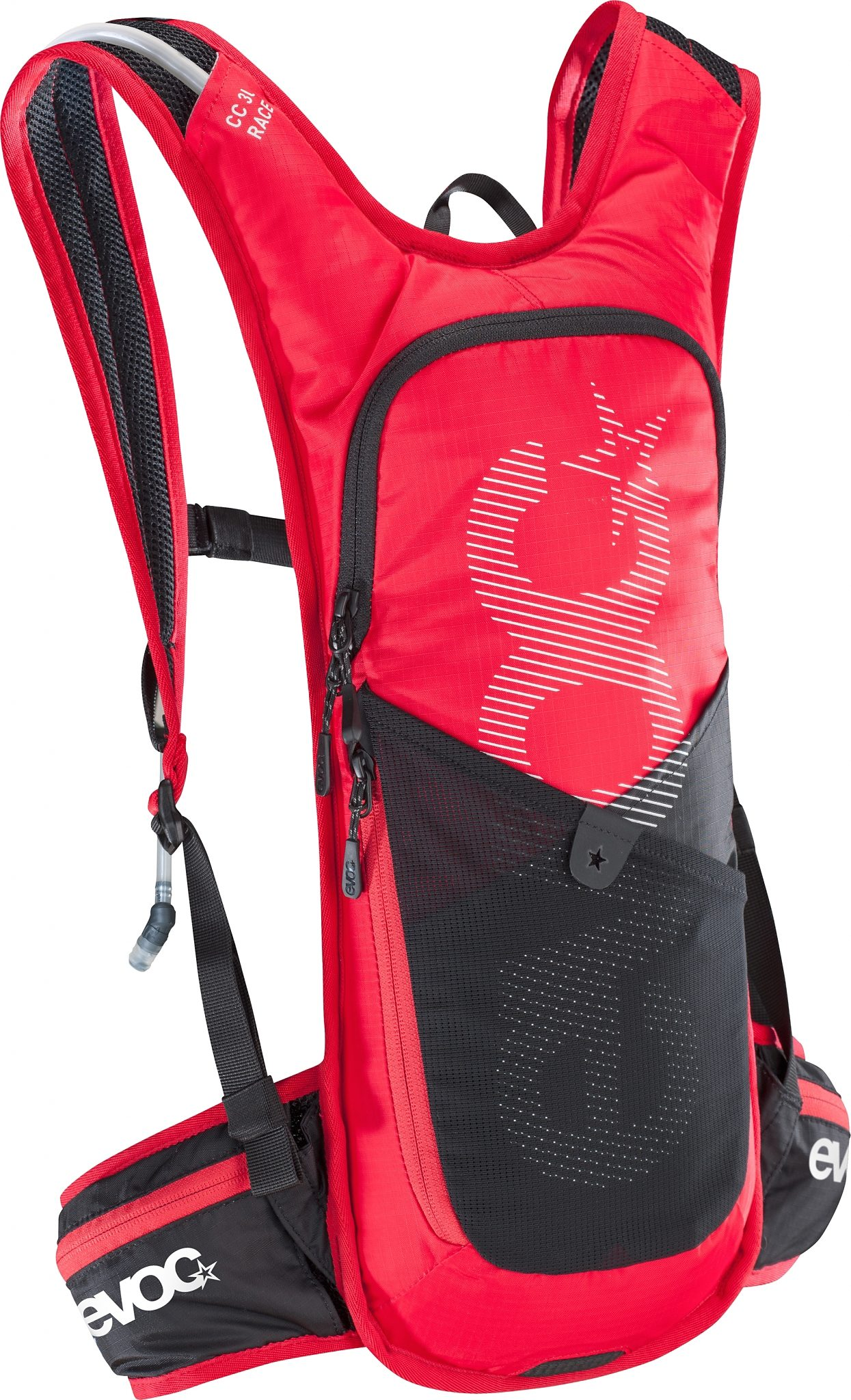 EVOC Rucksack »CC Race Backpack 3 L + Hydration Bladder 2 L«