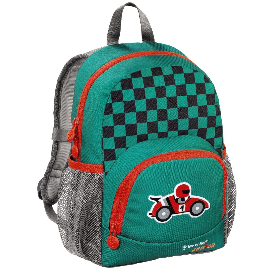 Step by Step JUNIOR Kindergartenrucksack Dressy, Little Racer