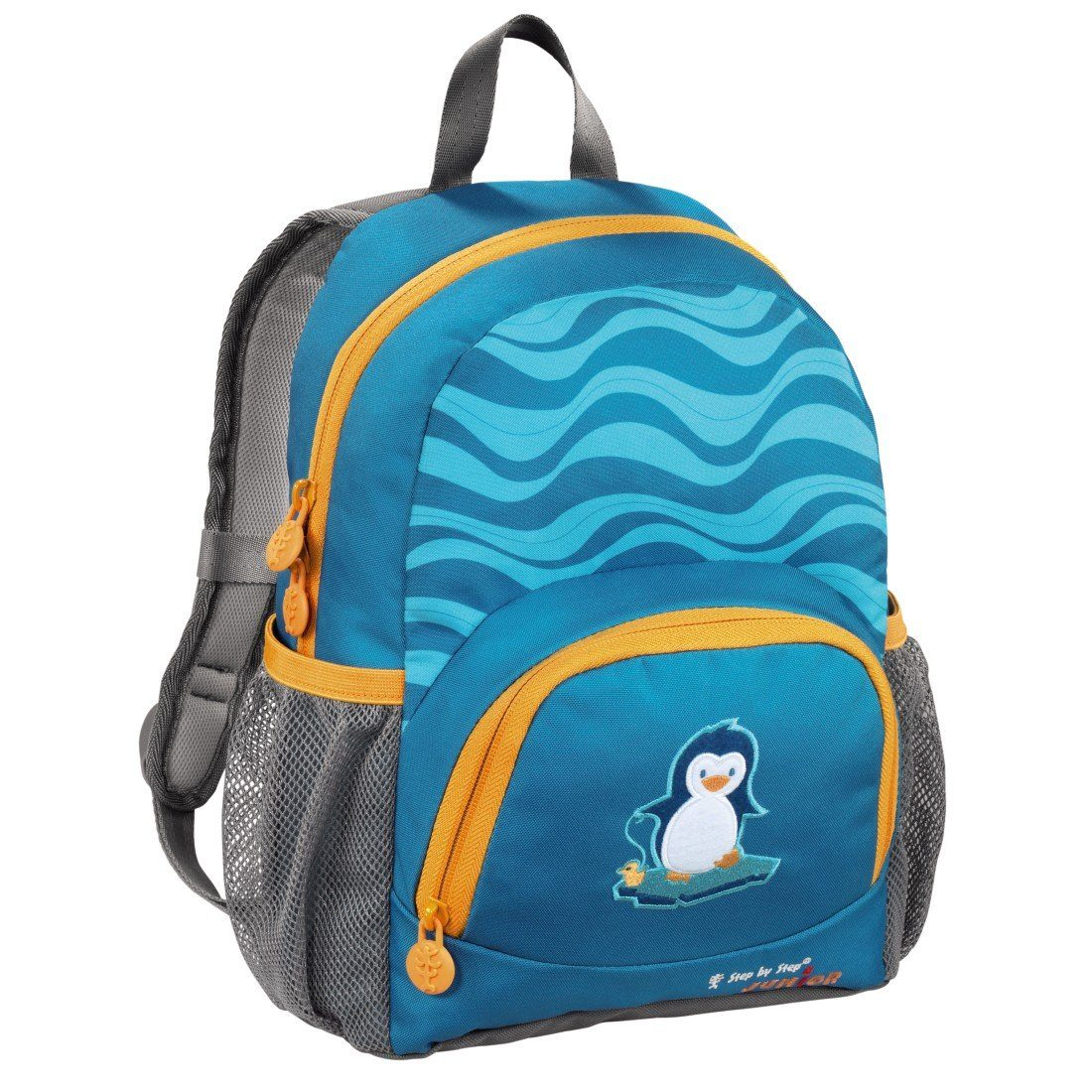 Step by Step JUNIOR Kindergartenrucksack Dressy, Little Penguin