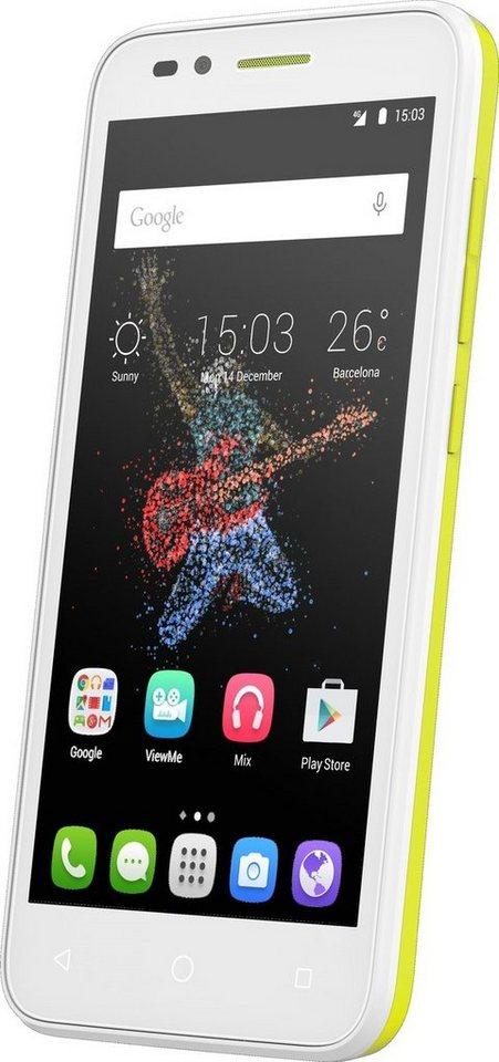 Alcatel Smartphone »GO Play 7048X« in Gelb-Weiß