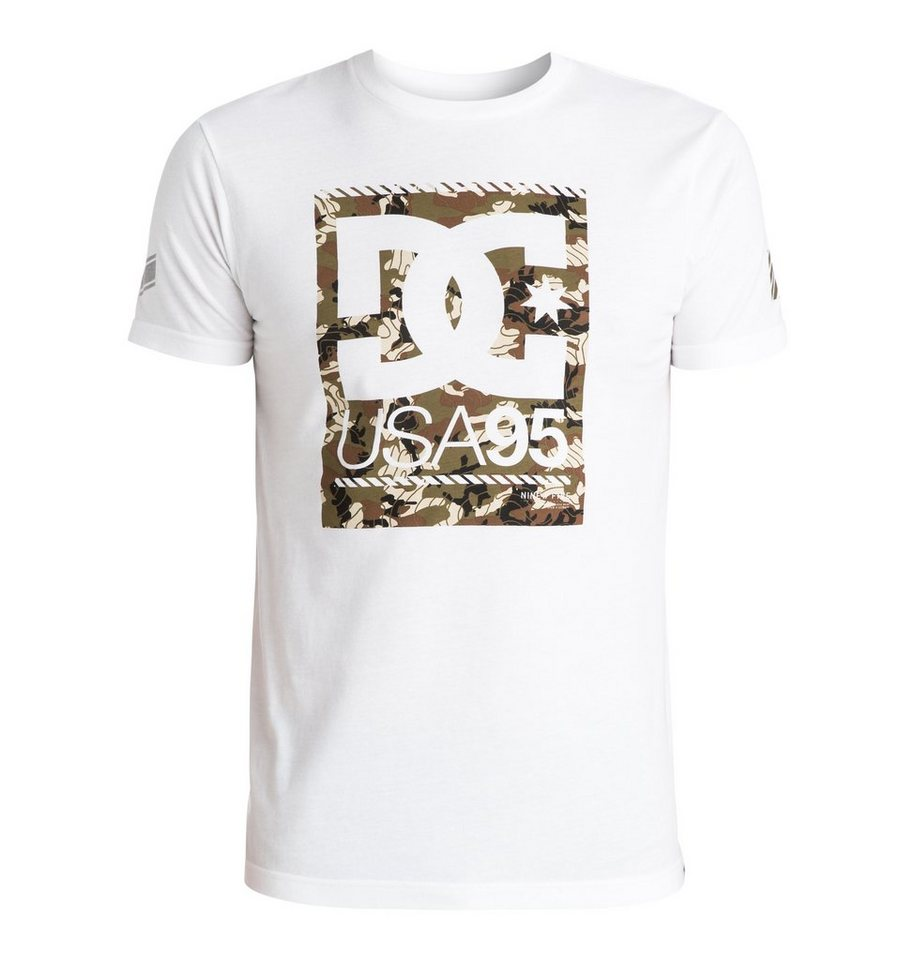 DC Shoes T-Shirt »Rd Tab« in White