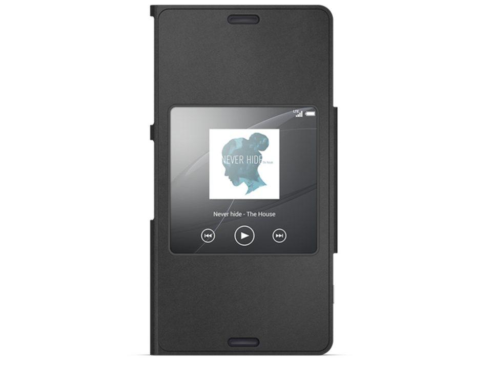 Sony Handytasche »Smartphone-Cover SCR26 (Mandarin)« in Schwarz