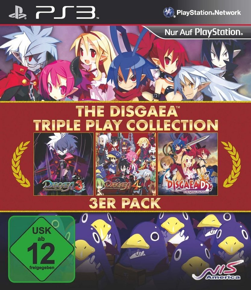 NIS Playstation 3 - Spiel »Disgaea Triple Play Collection«