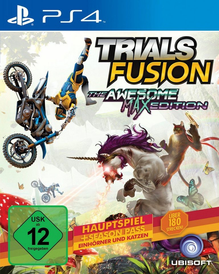 Ubisoft Playstation 4 - Spiel »Trials Fusion: The Awesome Max Edition«