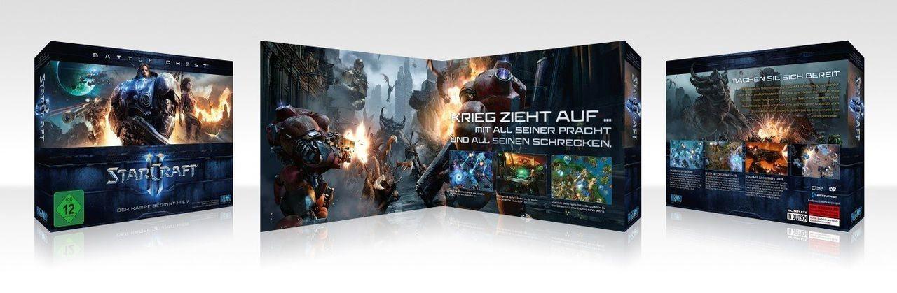 Blizzard PC - Spiel »Starcraft 2 Battlechest«