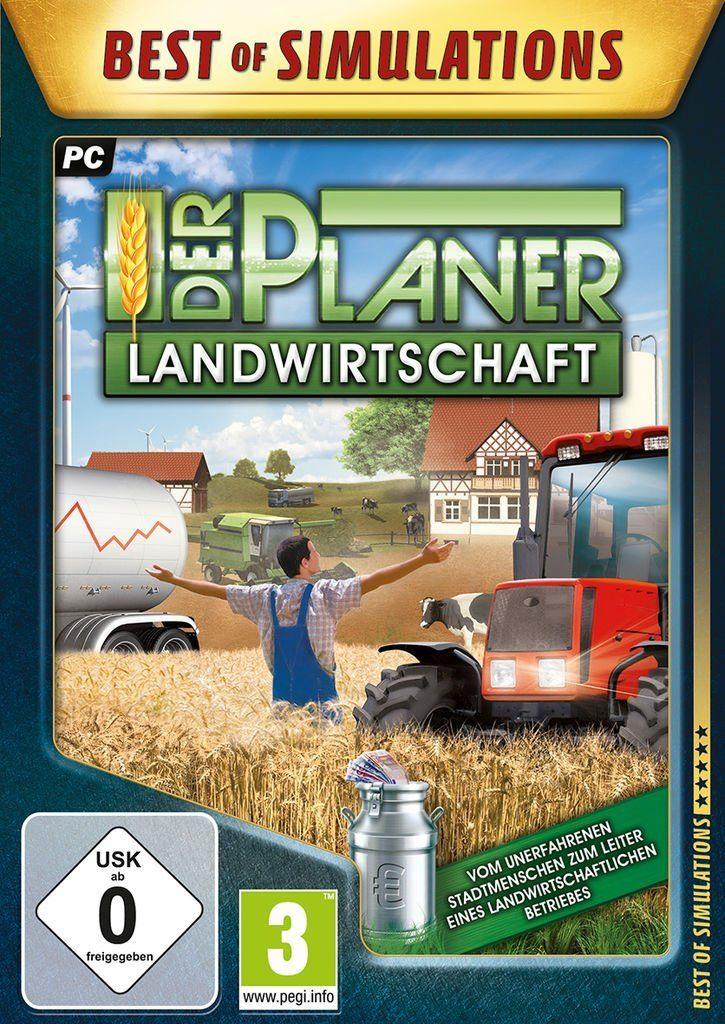rondomedia PC - Spiel »Der Planer: Landwirtschaft«