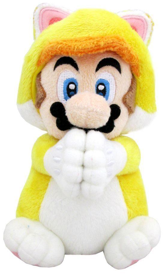 Together+ Fanartikel »Nintendo Plüschfigur Mario Katze Handmagnet (19cm)«