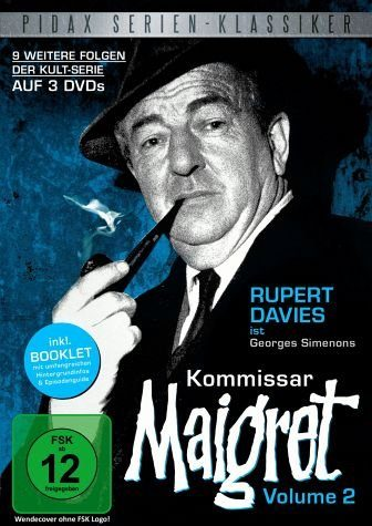 DVD »Kommissar Maigret - Vol. 2 (3 Discs)«