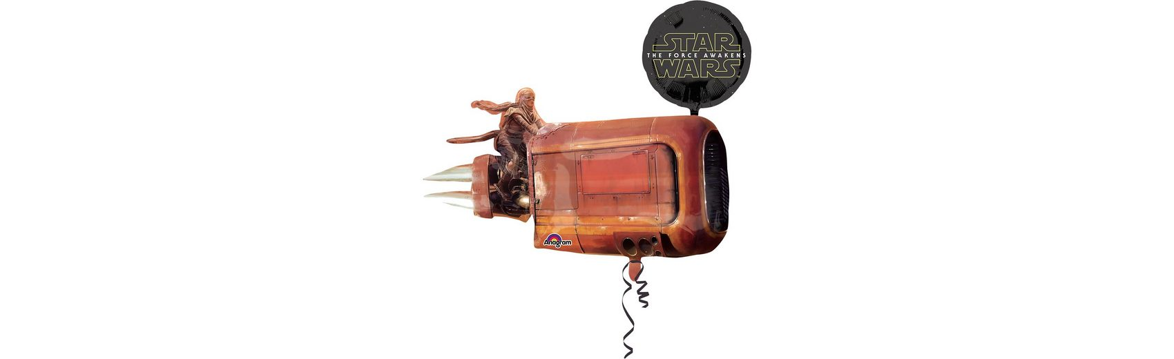 Amscan Folienballon Multi-Ballon Star Wars Das Erwachen der Macht