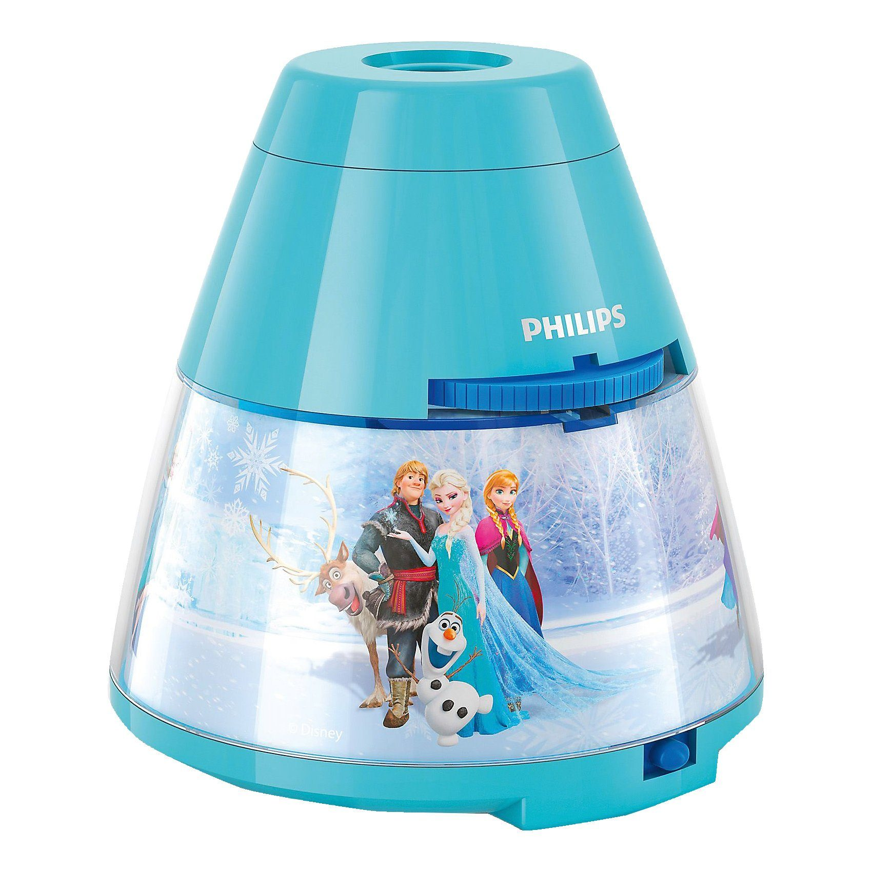 Philips Lighting Projektor Tischlampe, Die Eiskönigin, LED
