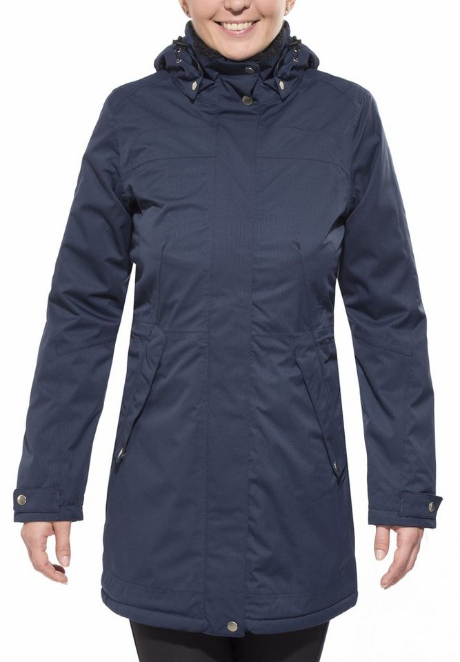 axant Outdoorjacke »Alps Winter Coat Women« in blau