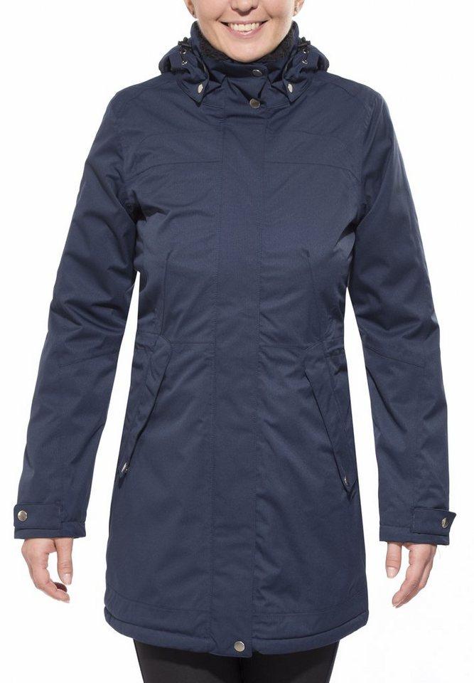 axant Outdoorjacke »Alps Winter Coat Women« in blau