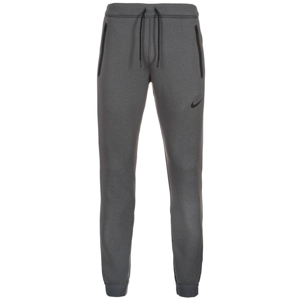 NIKE Thermasphere Max Trainingshose Herren in grau / schwarz