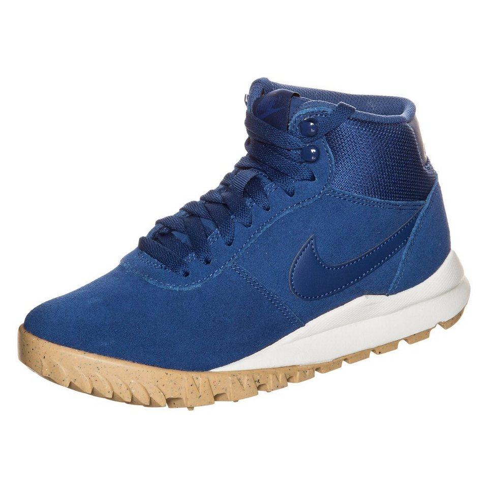 Nike Sportswear Hoodland Suede Boot Damen in blau / hellbraun