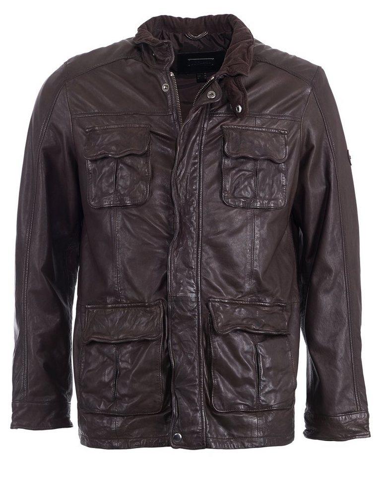 JCC Lederjacke, Herren »40100« in brown