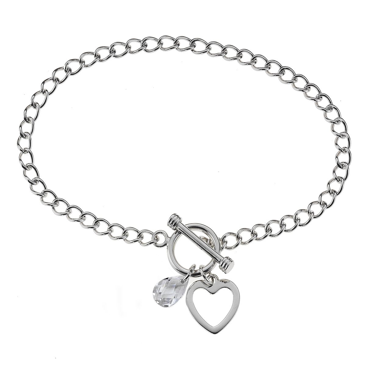 Zeeme Armband »925/- Sterling Silber Zirkonia weiß«