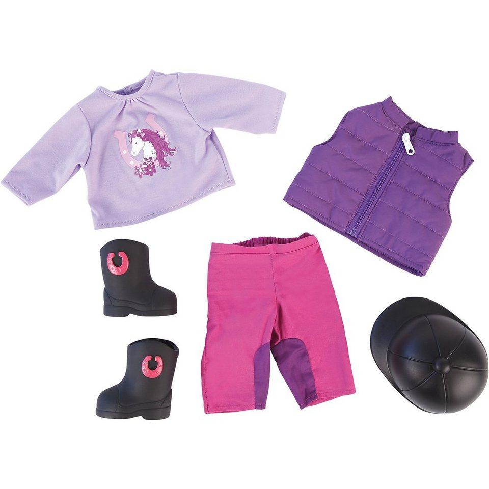 BAYER Kleider-Set Rider für Puppen