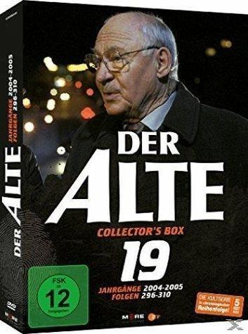 DVD »Der Alte - Collector's Box Vol. 19 (Folgen...«