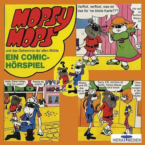 DVD »Mopsy Mops Und Das Geheimnis Der Alten«