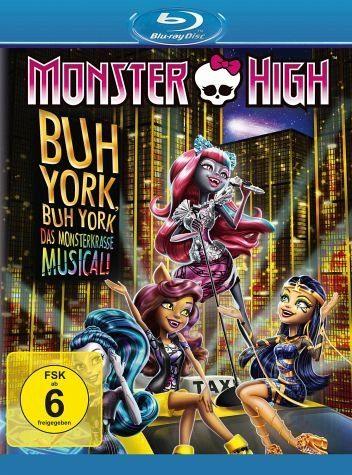 Blu-ray »Monster High - Buh York, Buh York - Das...«