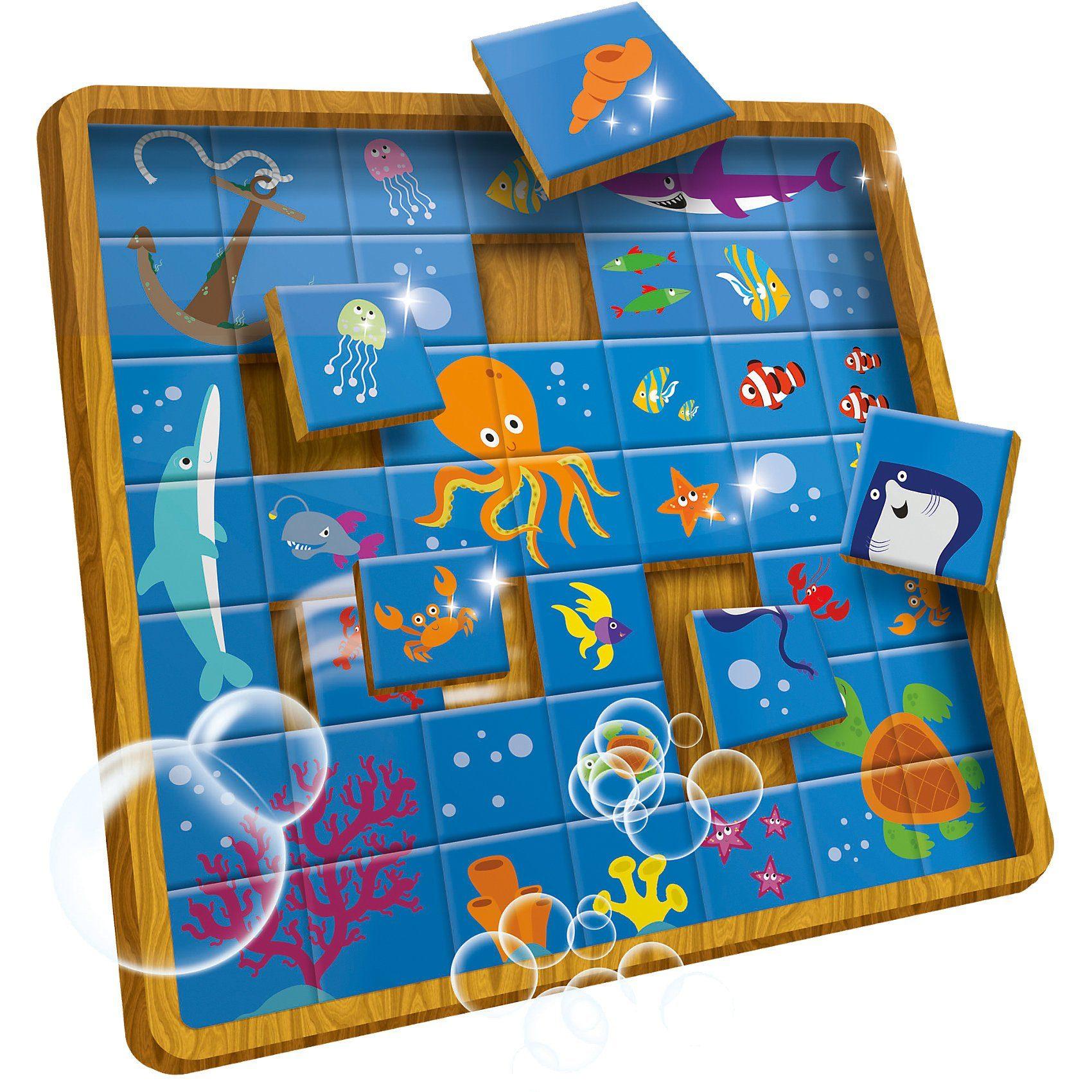 Lisciani Creative Puzzle - Unterwasserwelt - 49 Teile