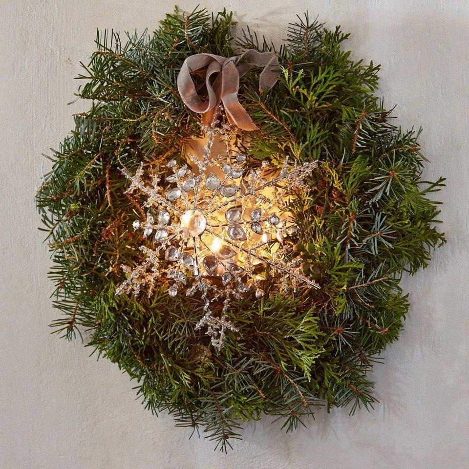 Loberon Teelichthalter »Gabillou« in silber