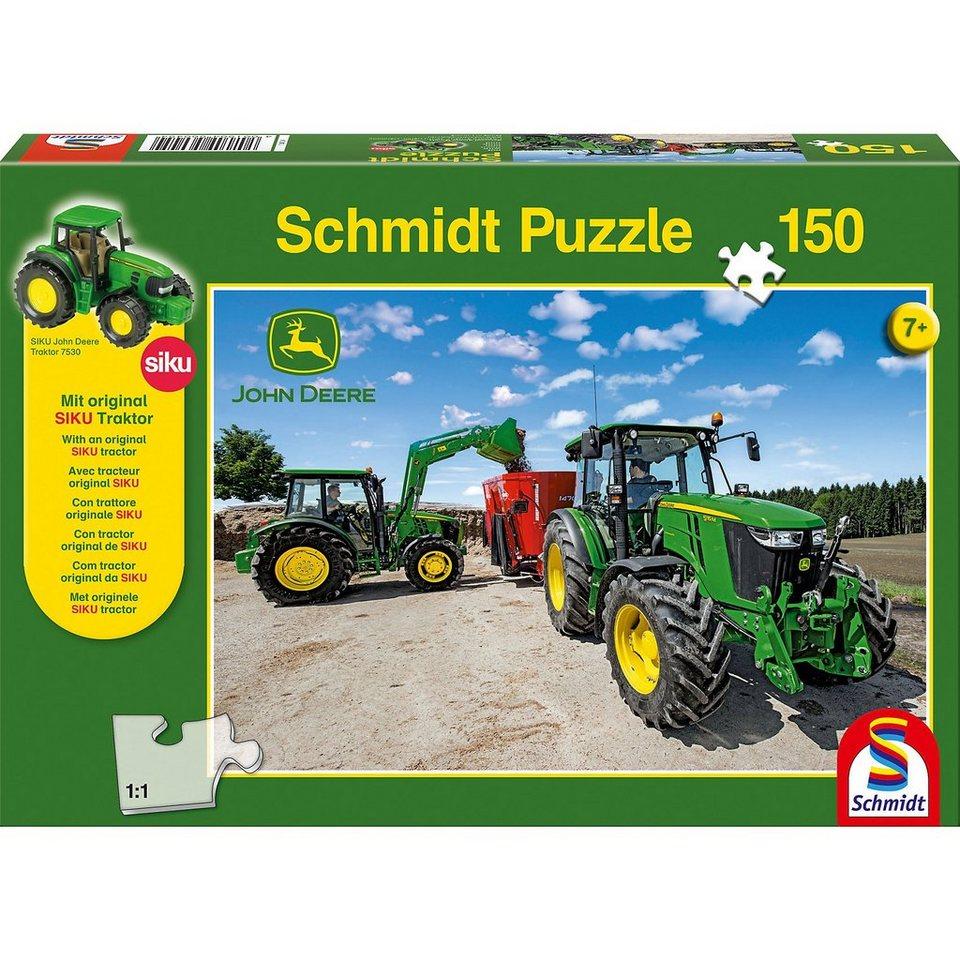 Schmidt Spiele Puzzle John Deere Traktoren der 5M Serie