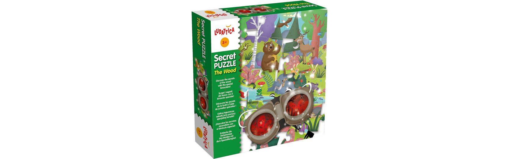 Lisciani Entdecker Puzzle - Im Wald - 24 Teile