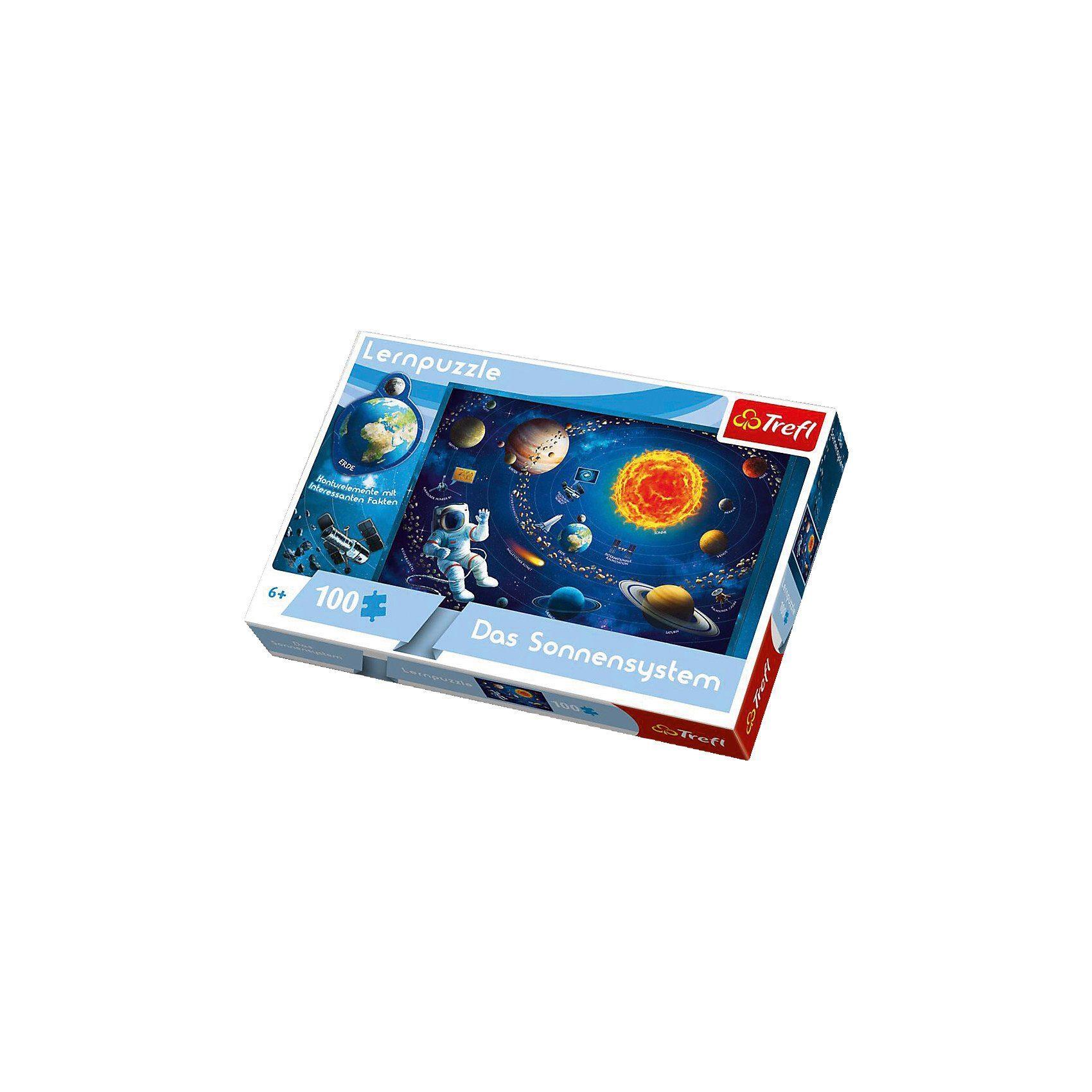 Trefl Lernpuzzle 100 Teile - Das Sonnensystem
