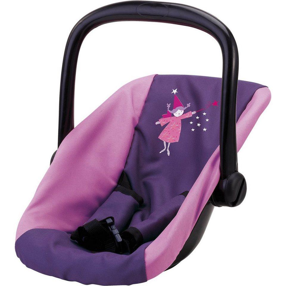 BAYER Puppen-Autositz lila