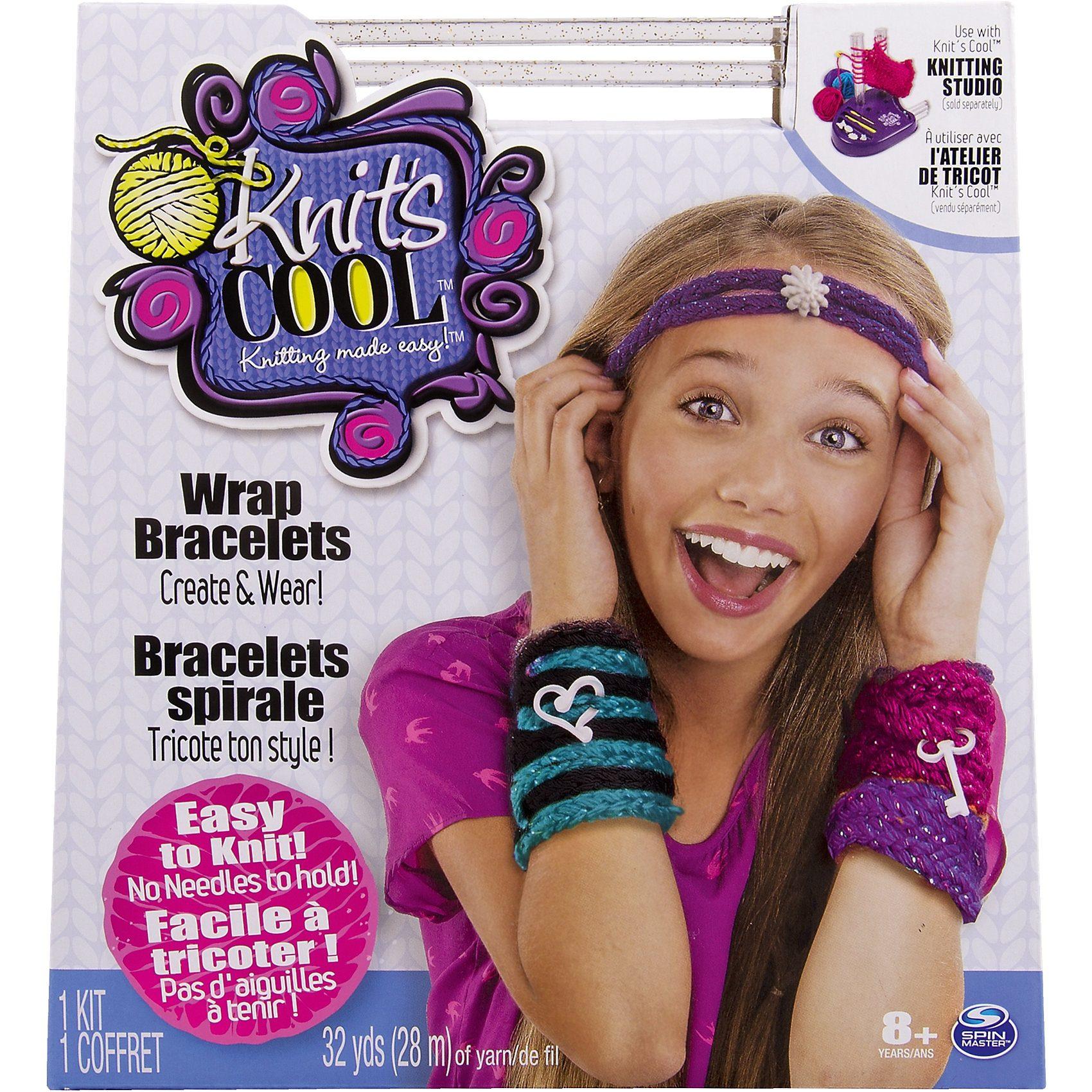 Spin Master Knits Cool Wrap Bracelets - Wickelarmbänder