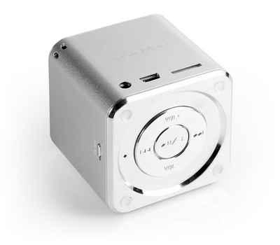 Technaxx Lautsprecher »MINI MusicMan SOUNDSTATION Silber«