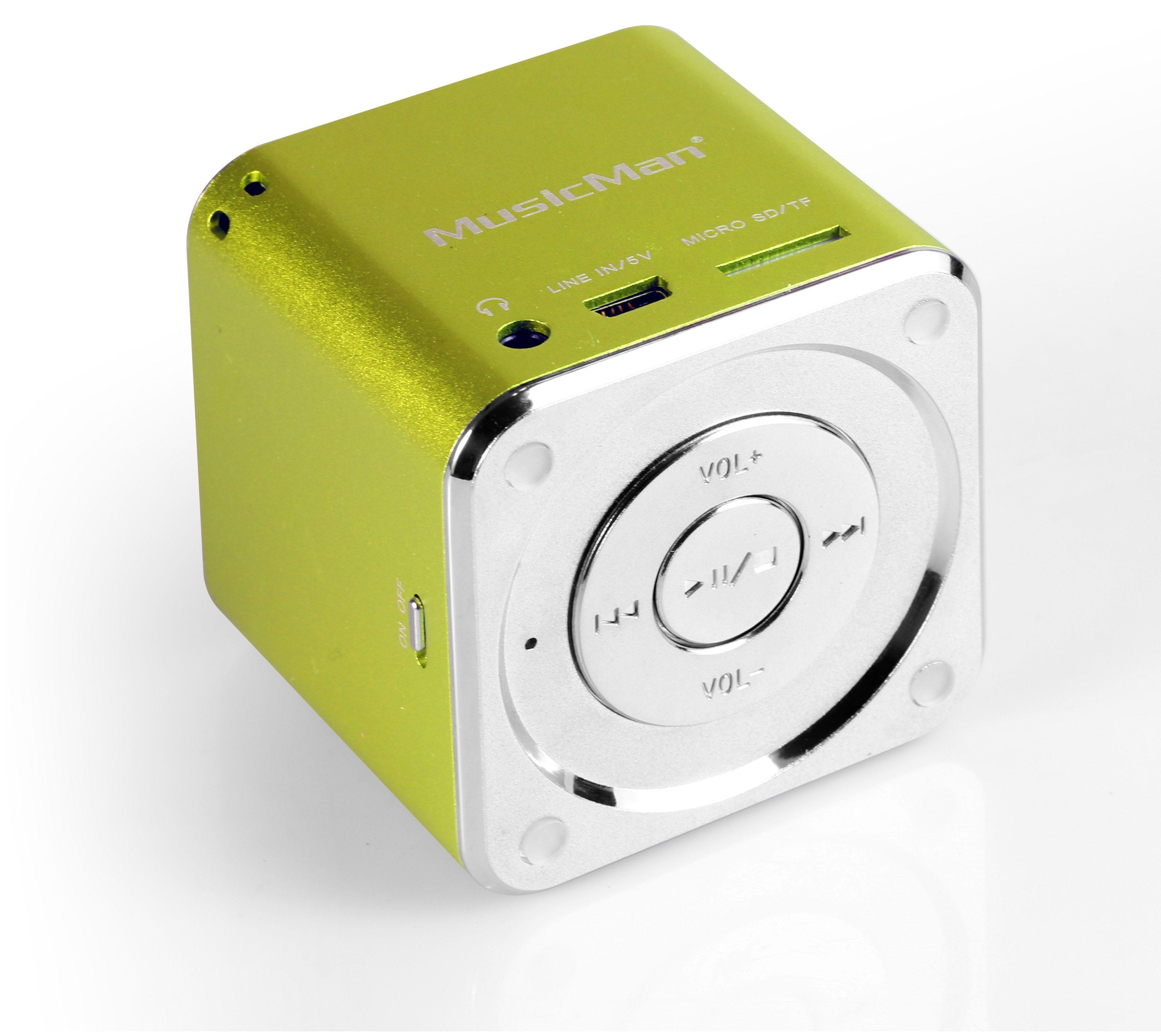 Technaxx Lautsprecher »MINI MusicMan SOUNDSTATION«