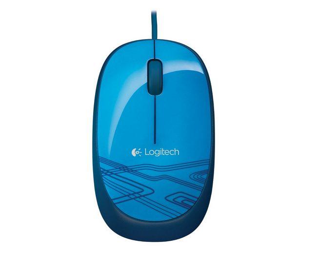 Logitech Maus »Mouse M105 Blue - 910-003105«