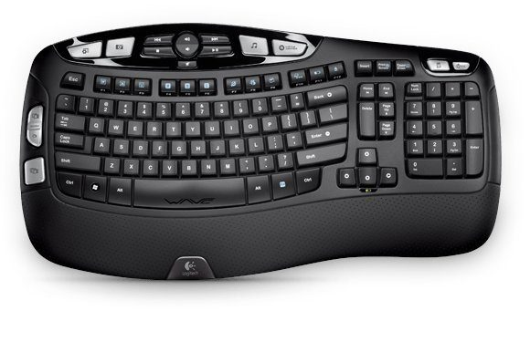 Logitech Tastatur »Wireless Keyboard K350 - 920-004484«