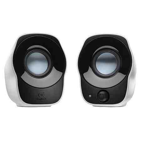 Logitech Lautsprecher »Stereo Speakers Z120 White USB - 980-000513«
