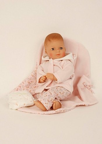 Schildkröt-Puppen Spielpuppe, rosa, »Schlenkerle 37 cm« in rosa