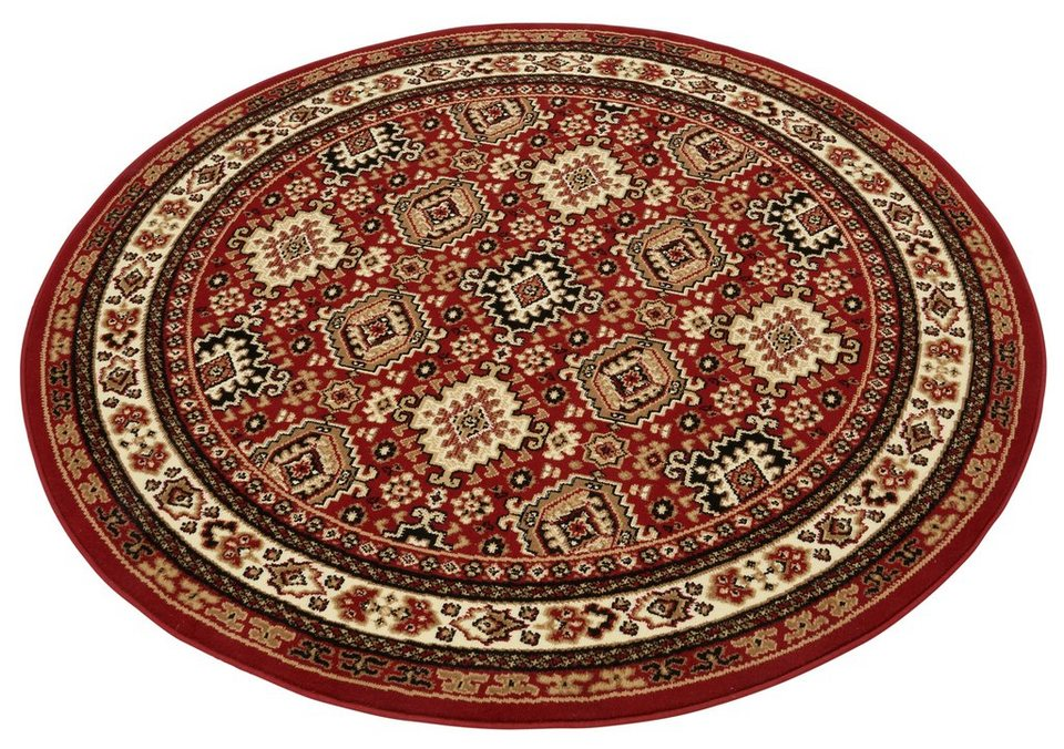 Teppich, rund, my home, »Diantha«, gewebt in rot
