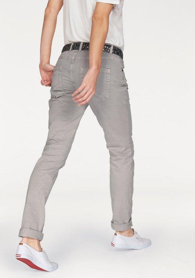 Tom Tailor Boyfriend-Jeans in grau