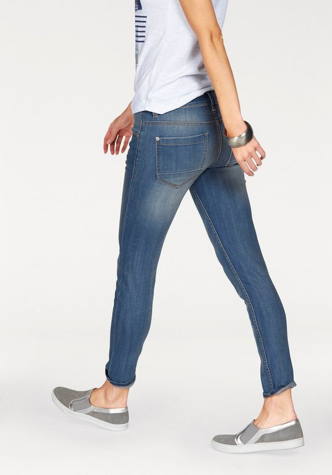 s.Oliver RED LABEL Ankle-Jeans in blue-stone