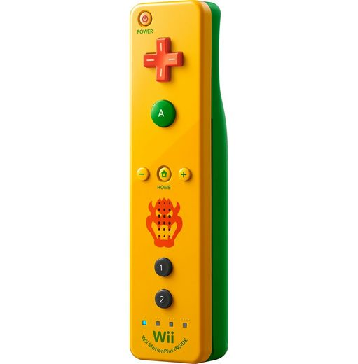 Nintendo Wii U Remote Plus Bowser Edition Controller