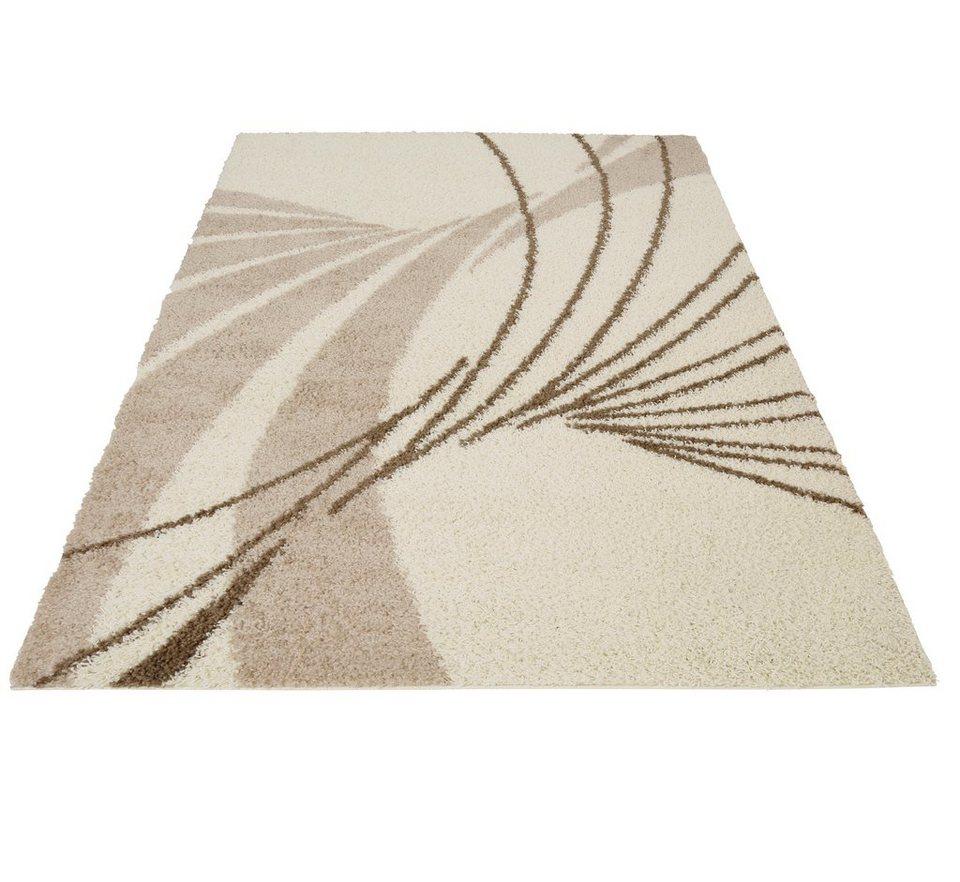 Hochflor-Teppich, Bruno Banani, »Terry«, Höhe 30 mm in natur