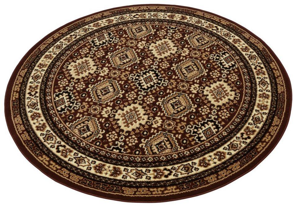 Teppich, rund, my home, »Diantha«, gewebt in braun