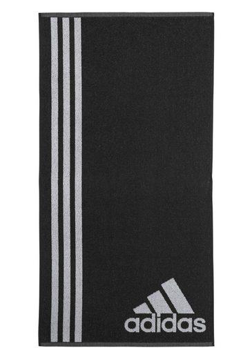 Badetuch, adidas Performance, mit drei großen Streifen