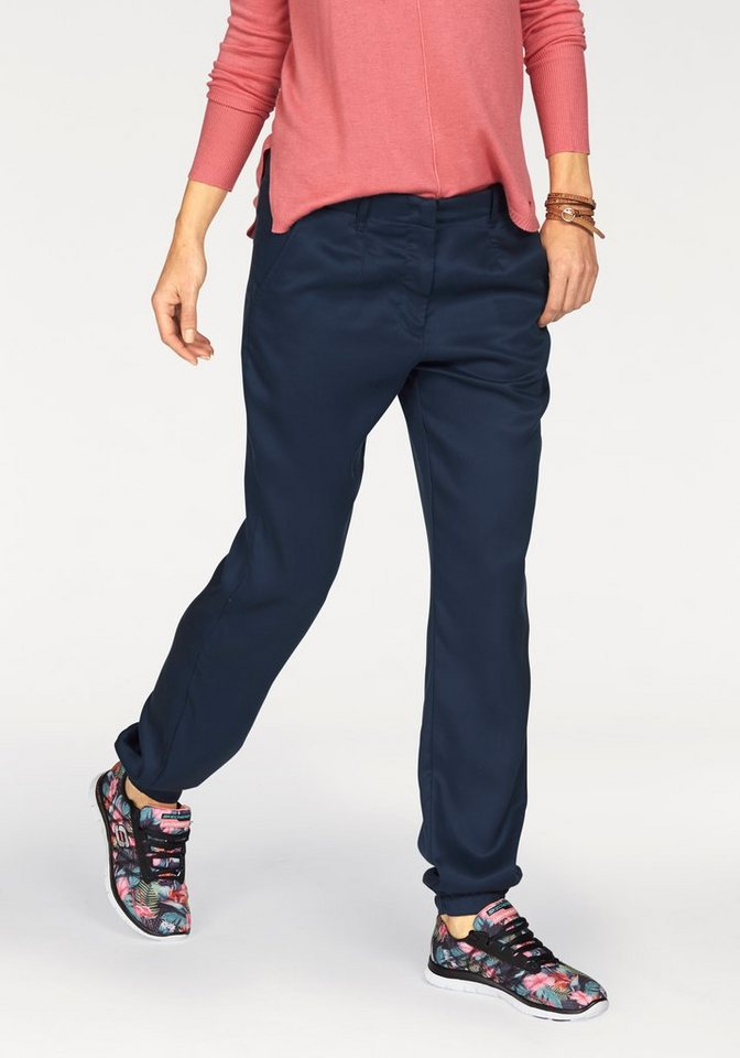Tom Tailor Chinohose loose fit in marine