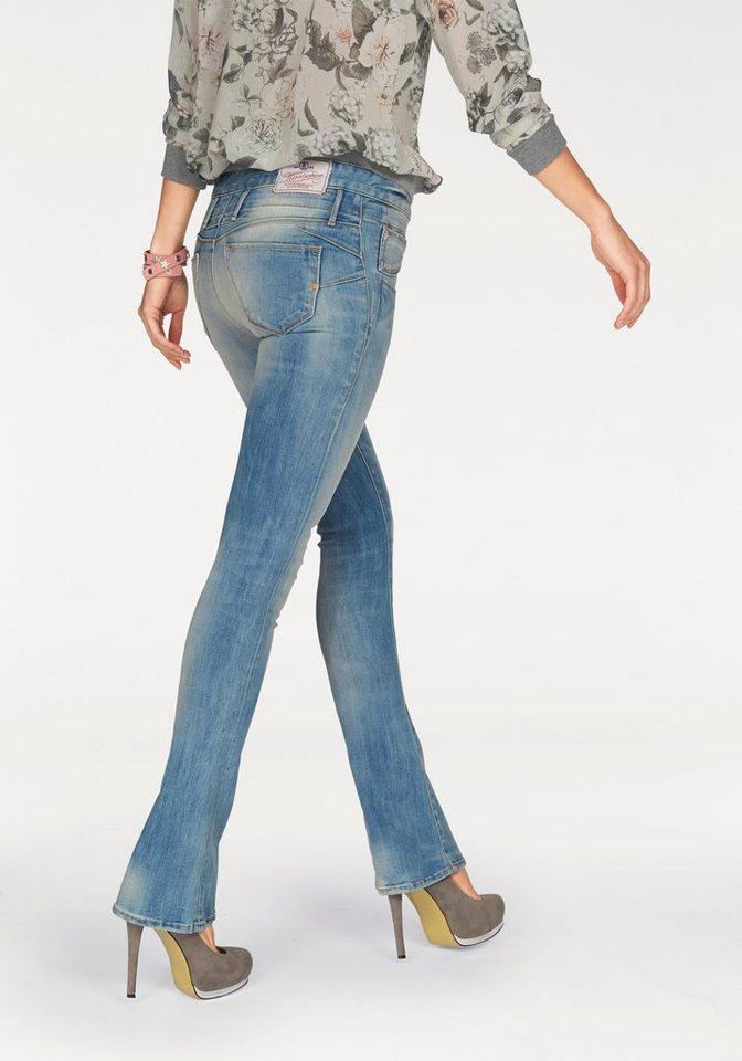 Herrlicher Bootcut-Jeans »Baby Boot« in blue-bright