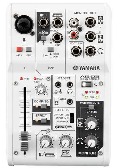 Yamaha Mischpult »AG03«, mit 3 Kanälen